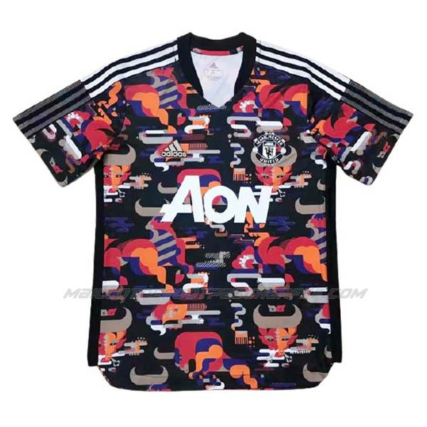 maillot année chinoise manchester united noir 2021