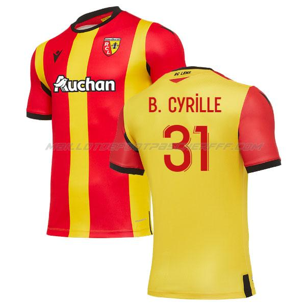 maillot cyrille bayala rc lens 1ème 2020-21