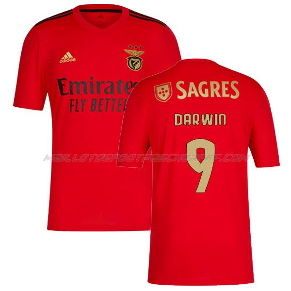 maillot darwin benfica 1ème 2020-21