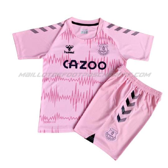 maillot enfant gardien everton rose 2020-21