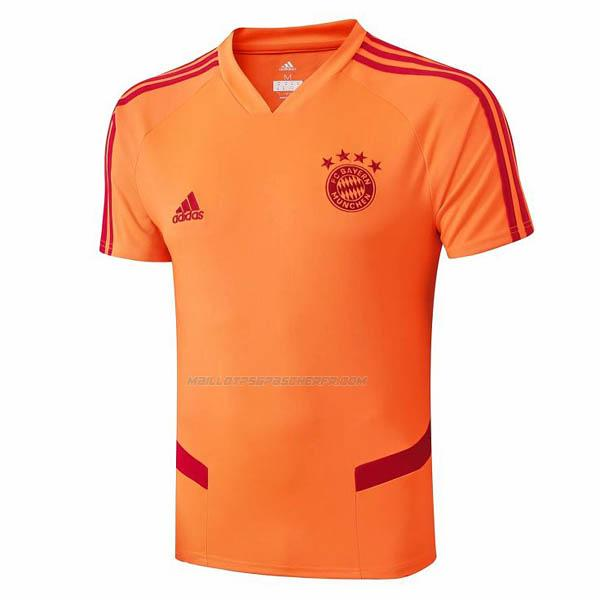maillot entraînement bayern munich orange 2019-2020