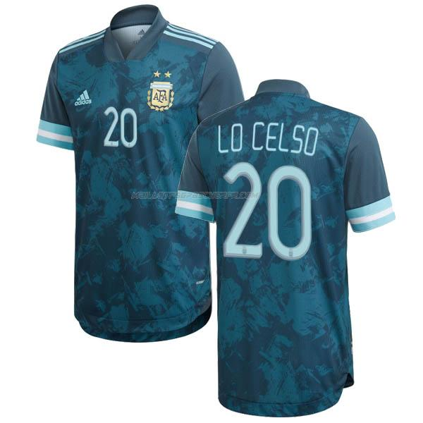maillot lo celso argentina 2ème 2020-2021