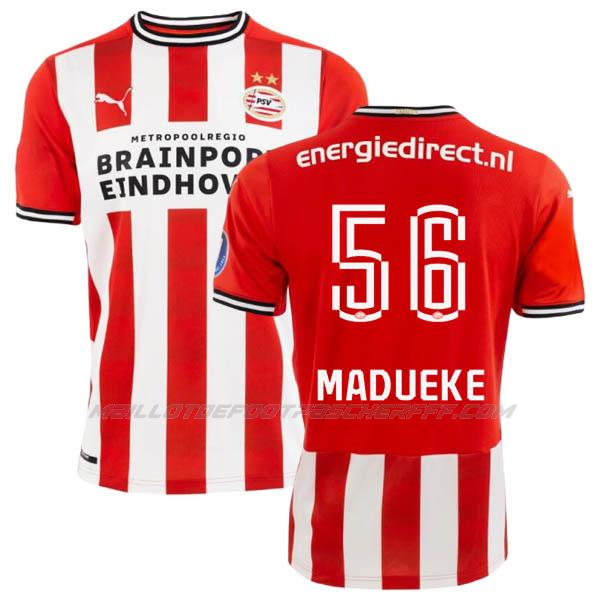 maillot madueke eindhoven 1ème 2020-21