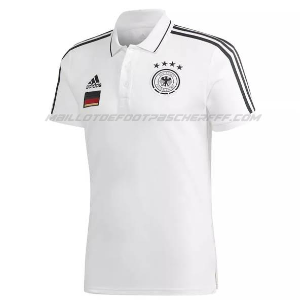 maillot polo allemagne blanc 2021