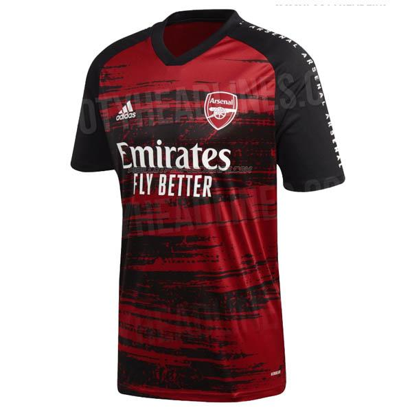 maillot pre-match arsenal 2019-2020