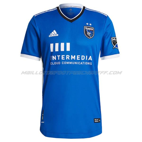 maillot san jose earthquakes 1ème 2021-22