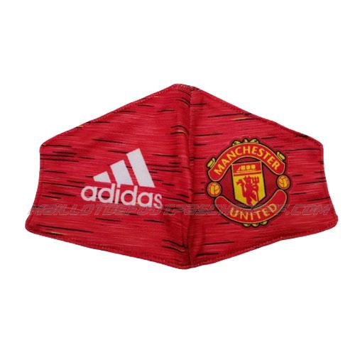 masque manchester united rouge 2020-21