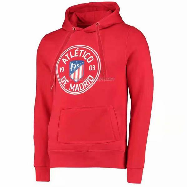 sweat à capuche atletico madrid rouge 2019-2020