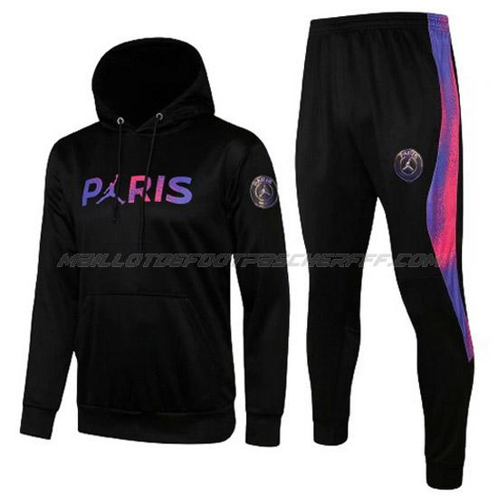 sweat à capuche paris saint-germain i noir 2021