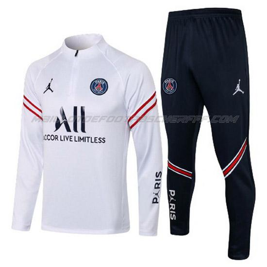 sweat aj paris saint-germain blanc 2021
