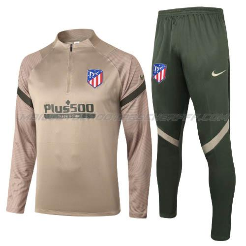 sweat atletico madrid marron 2020-21