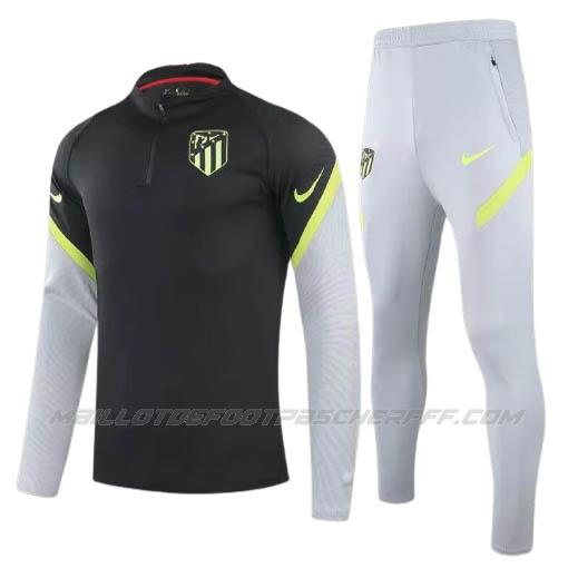 sweat atletico madrid noir 2020-21