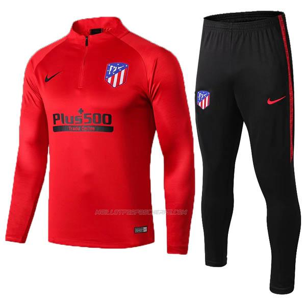 sweat atletico madrid rouge 2019-2020