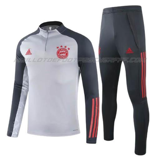 sweat bayern munich gris 2020-21
