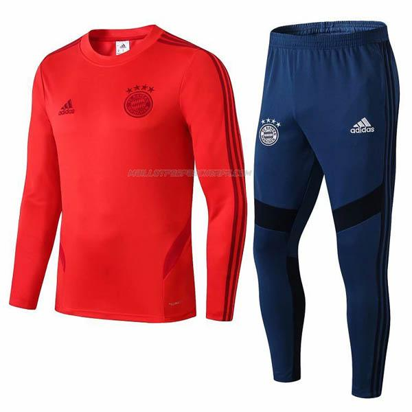 sweat bayern munich i rouge 2019-2020