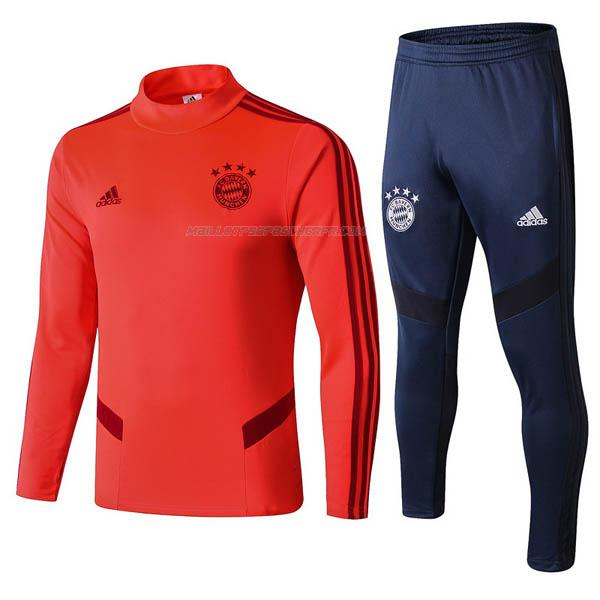 sweat bayern munich rouge 2019-2020