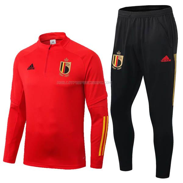 sweat belgique rouge 2020-2021