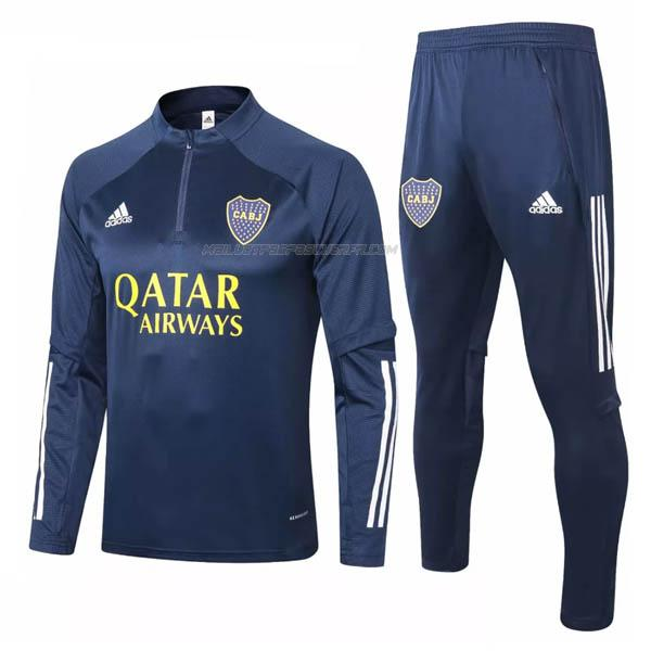 sweat boca juniors bleu 2020-2021
