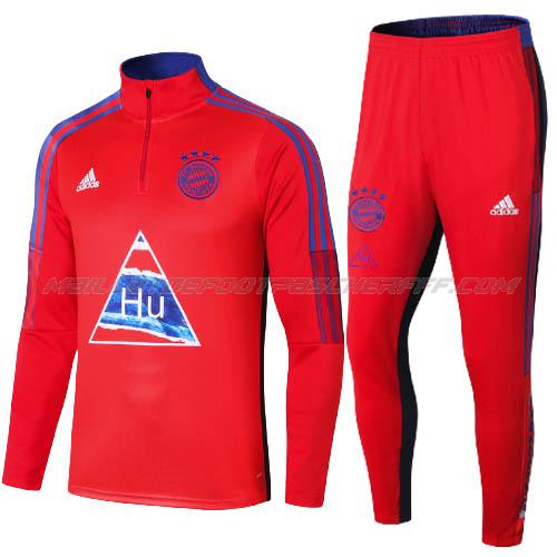sweat humanrace bayern munich rouge 2020-21
