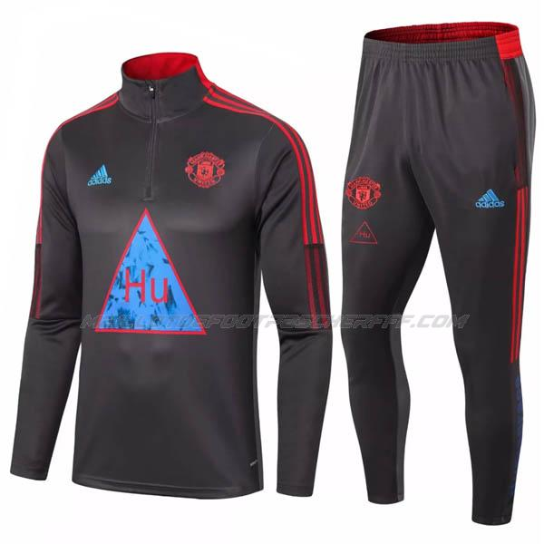 sweat humanrace manchester united noir 2020-21