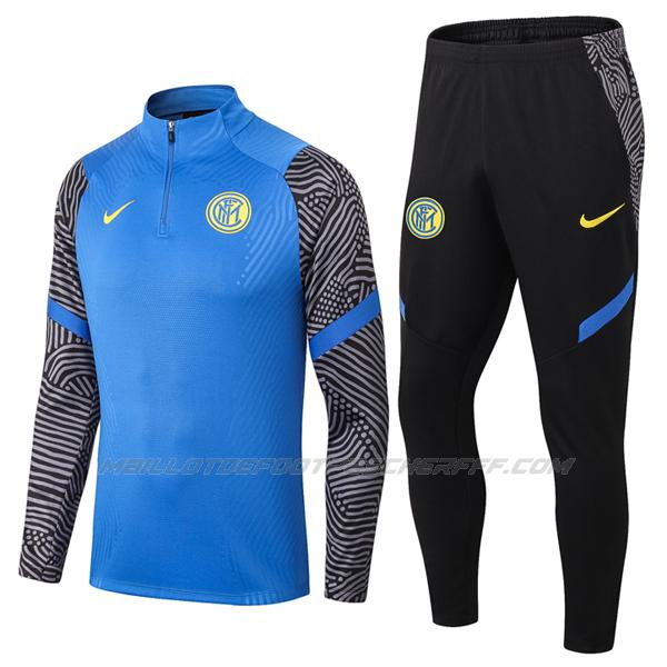 sweat inter milan bleu 2020-21
