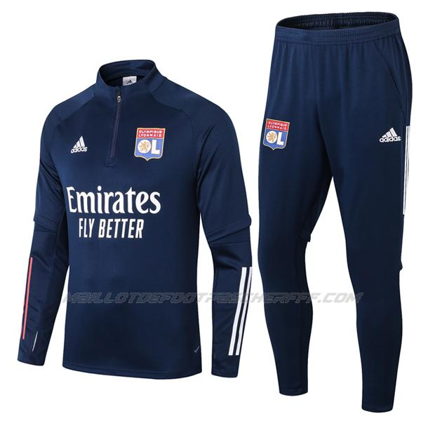 sweat lyon bleu marine 2020-21