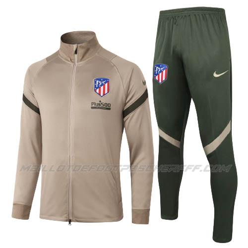 veste atletico madrid marron 2020-21